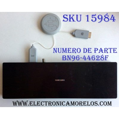 CAJA PARA TV SAMSUNG / ONE CONNECT BN96-44628F / ENTRADAS HDMI / ANTENA / USB / EX-LINK / LAN / OPTICAL / SOC1000MA / S0C1000MA / BN68-07104D-00 / MODELO QN75Q75FMFXZA