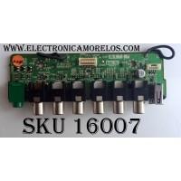 TARJETA H8 DE A/V / SONY A-1118-196-A / 0-000-000-03 / (000000003) / MODELOS KDL-V26XBR1 / KDL-V32XBR1 / KDL-V40A10 / KDL-V40XBR1