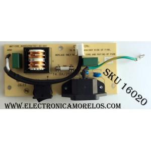 FUENTE DE PODER / TARJETA FILTRO / VIEWSONIC 6050A2061501-AC-A01 / MB-R2523B-DLA1 / MATISSE_6050A2061501-AC-A01 / PANEL LC420W02 / MODELO N4200W VS10945-1M