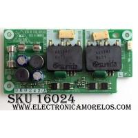 BACKLIGHT INVERTER / SHARP DUNTKC351FE02 / KC351 / SC351WJ / MODELO LC-15B6U-SM
