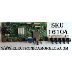 MAIN / ELEMENT 1206H1144A / CV318H-T / 1206H1145 / 1.80.18.00305 / BLT315XW03 / TFV315A01-B / CVAV+YPBPR+AUDIO_OUT-A / PANEL T315XW03 / T315XW03(TFV315A01-B) / MODELOS ELCFW327 / ELCFW328