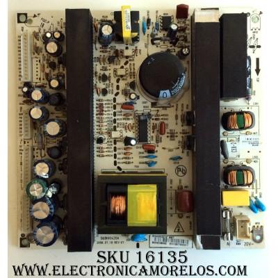 FUENTE DE PODER / DYNEX 6HV0052014 / 569HV0420A / 6HV0052010 / REV:07 / MODELOS DX-LCD37-09-2 / NS-LCD37HD-09