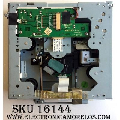 REPRODUCTOR DE DVD / INSIGNIA SL265WGL / 260PCB / VER070706 / E22451 / PANEL V260B1-L01 REV.C1 / MODELOS NS-LTDVD26 / NS-LTDVD19-09