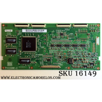 T-CON / SAMSUNG 35-A23C0608 / V230W1-C / 35A23C0608 / PANEL V230W1-L02 REV.C2 / V460H1-LH5 C.1 / MODELO LNR237WX/XAA