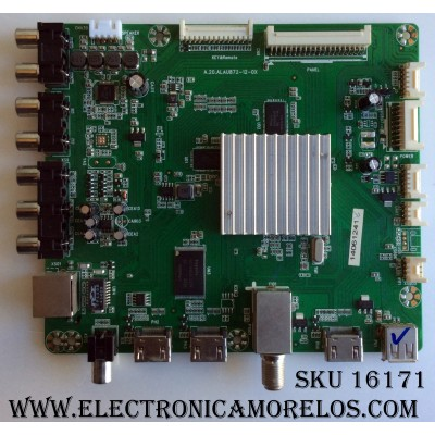 MAIN / RCA RE0110872LNA0-B1 / A.20.ALAU872-12-0X / D042101/14MK / RE0110872LNA0 / PANEL LK315T3HB87-12V / MODELO SLD32A30RQ