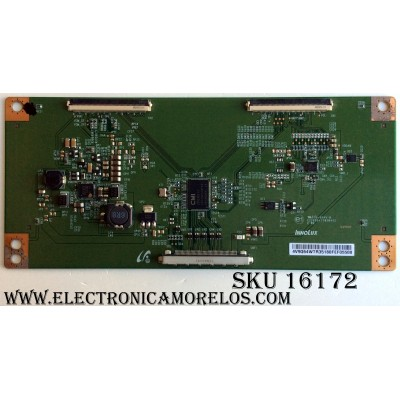 T-CON RCA / 4V9Q64WTR / E222034 / PANEL LK315T3HB87-12V / MODELO SLD32A30RQ