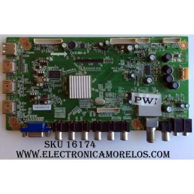 MAIN / APEX 1201H0017 / CV318H-A / 1.03.70.04129 / PANEL T260XW06 V.3 / MODELO LE2612D
