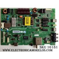 MAIN / FUENTE (COMBO) / LG 1604406LA3118 / 5823-A6M68A-0P00 VER00.05 / CTI-600 / 1604406M-M03640 / PANEL LC430DUY (SH)(A1) / RDL430FY(LD0-300) / MODELO 43LH5000-UA CUSWLH