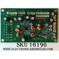 TARJETA DE AUDIO / TRONY  JUJ7.820.232 / V1.2 / E169373 / MODELOS T-LCD2600 / STV-LC3215W