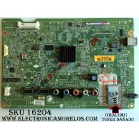 MAIN ((NOTA IMPORTANTE:((BALUM)) TUNER DAÑADO CHECAR FOTO...)) / LG EBT62227807 / EAX64437505(1.0) / EBR75708201 / SUSTITUTAS EBT62227810 / EBT62227820 / EBT62227814 / PANEL LC550EUE (SE)(M1) / MODELO 55LS4500-UD AUSWLUR