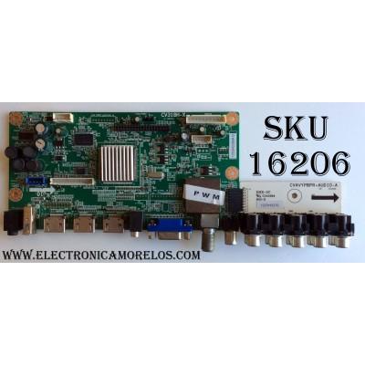 MAIN / APEX 1203H0385A / CV318H-X / 1203H0370 / CVAVYPBPR+AUDIO-A / DHX-2C / MODELO LD3288T