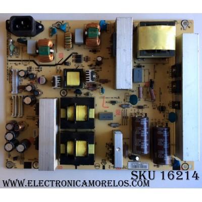 FUENTE DE PODER / HITACHI ADTV92439QA4 / 715T919-2 / (T)92439QA4 / PANEL V546H1-LH2 REV C2 / MODELO L55S603