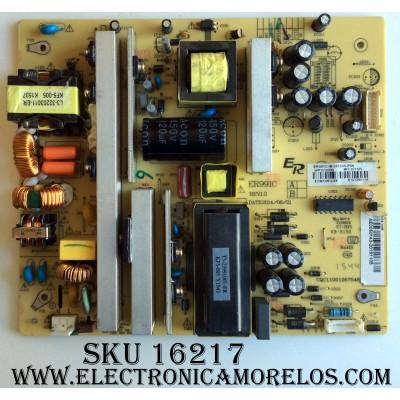 FUENTE DE PODER / RCA AE0050143 / ER991CB / CQC11001057548 / SLD65A55RQ 5518-SL65A55-B2