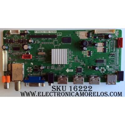 MAIN / SCEPTRE C12090003 / T.RSC8.10B 12305 / T201209013 / (KASC8M10L) / 20120925153832-10BLED / PANEL T315CK11-HW2 / MODELO X322BV-HD