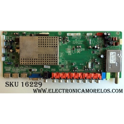 MAIN / ELEMENT TI10150-038 / 1.B.08.030000482 / 20-ASUS816-15-0X / RT816_V5_20100326 / PANEL V420H1-L13 Rev.C8 / MODELO ELDTW422