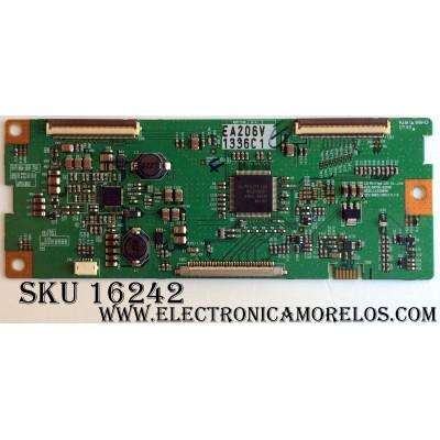 T-CON / TOSHIBA 6871L-1336C / 6870C-0204B / LC420WXN / 1336C / PANEL LC420WXN (SA)(B1) / MODELOS 42AV500U / 42AV554D