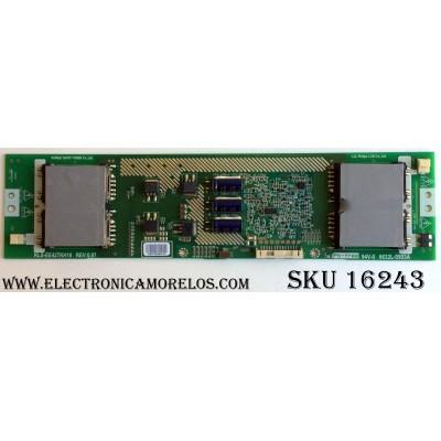 BACKLIGHT INVERTER / TOSHIBA 6632L-0503A / 75013089 / REV:0.97 / 503A / KLS-EE42TKH18 / PANEL LC420WXN (SA)(B1) / MODELOS 42AV500U / 42AV554D / 42AV555D / M4212C-BA / LCD4215