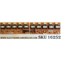 BACKLIGHT INVERTER / SONY LJ97-01380A / PCB2831 / PCB2832 / A06-127559 / A06-127560 / E55888 / ISN011-00 / PANEL LTZ400HA03-201 / MODELOS KDL-40T3500 / KDL-40V2500 / KDL-40W2000