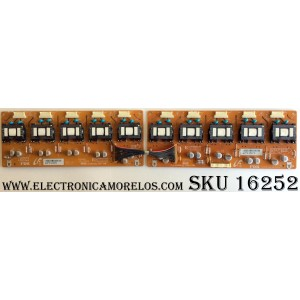 BACKLIGHT INVERTER / SONY LJ97-01380A / PCB2831 / PCB2832 / A06-127559 / A06-127560 / E55888 / ISN011-00 / PANEL LTZ400HA03-201 / MODELOS KDL-40T3500 / KDL-40V2500 / KDL-40W2000