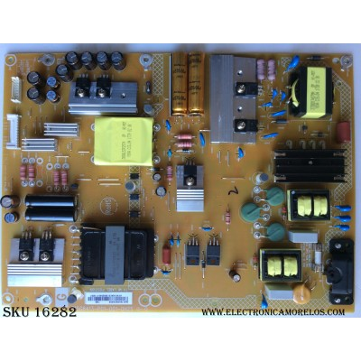 FUENTE DE PODER / SONY 1-897-244-11 / PLTVHY401XACB / 715G8413-P01-001-0H2S / MODELO KD-50X690E / PANEL TPT500U1-QVN03.U REV:S7BOE