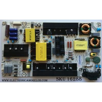 FUENTE DE PODER / INSIGNIA 209995 / HLL-5260WC / RSAG7.820.7238/ROH / MODELO NS-55D420NA18 / PANEL HD550K3F82-TX