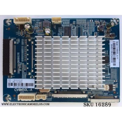 TARJETA FRC / WESTINGHOUSE WE-M15029 / CV6M50L-A-11 / 890-102-6M50 / CV6M50L-A / MODELO WE55UC4200 TW-02001-A055I / PANEL T550-0DH-ELED(VER 2.G) / LA550QVNOA