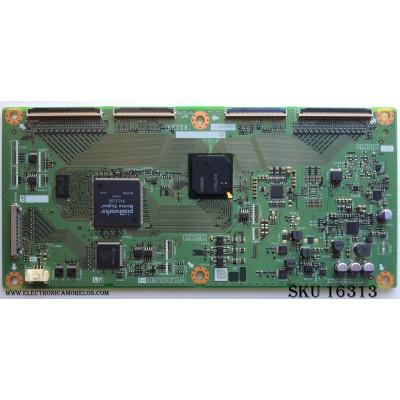 T-CON / SHARP RUNTK4909TPZA / CPWBX4909TPZA / XF758WJ / KF758 / MODELO LC-60LE830U / PANEL LK600D3GW30R