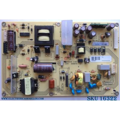 FUENTE DE PODER / SHARP 9JY0940CTJ05000 / 09-40CTJ050-00 / FTPL-009 / 1P-0132X011010 / MODELO LC-40LE550U / PANEL S400DH3-1