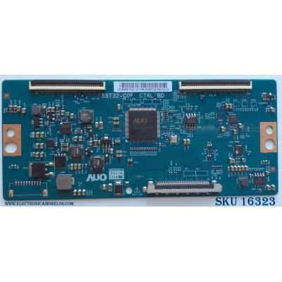 T-CON / INSIGNIA 55.50T32.C13 / 5550T32C13 / 55T32-C0F / MODELO NS-50DR620NA18 / PANEL TPT500U1-QVN03.U REV:S7B0B