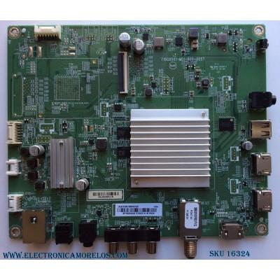 MAIN / INSIGNIA XHCB01K024 / XHCB01K024010X / 715G8501-M01-B00-005T / MODELO NS-50DR620NA18 / PANEL TPT500U1-QVN03.U REV:S7B0B