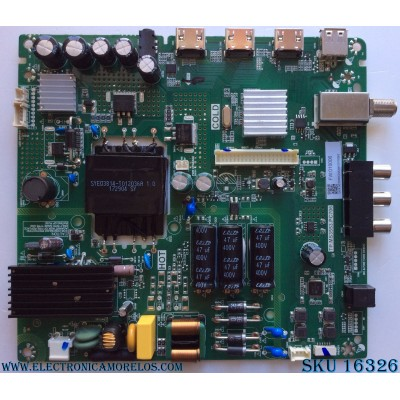MAIN / FUENTE / (COMBO) / TOSHIBA H17081877 / TP.MS3553.PC706 / LC430DUY / MODELO 43L420U / PANEL K430WDRC