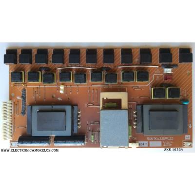 BACKLIGHT INVERSOR SHARP / RUNTKA335WJZZ / PANEL R1LK645D3LZ40V / MODELOS LC-65D64U / LC-C6554U / LC-C6577UM