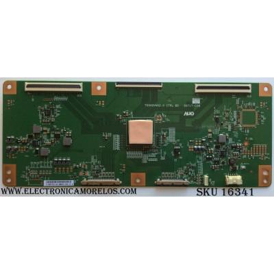 T-CON SONY / 5555T17C01 / 55.55T17.C01 / T550QVN02.0 / 55T17-C08 / PANEL YD4S550LTU01 / MODELO XBR-55X900B