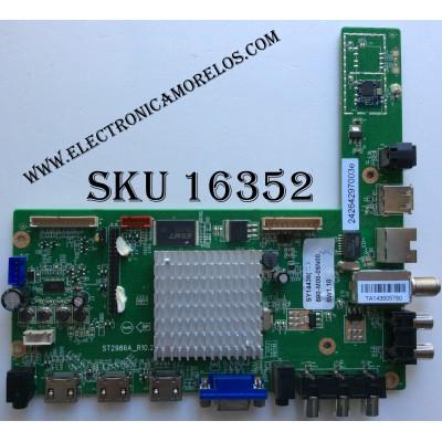 MAIN / SHARP NQP890M0005N00 / 890-M00-05N00 / SY14436 / 242642971983 / ST2986A_R10.2 / MODELO LC-60LE644U