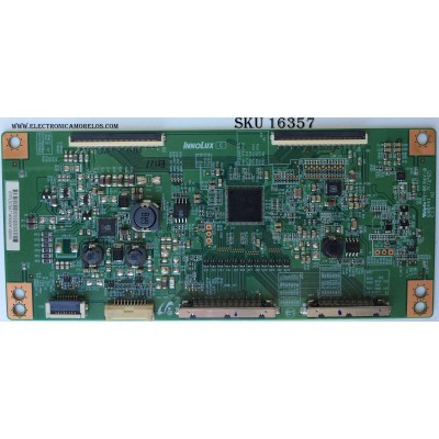 T-CON / PANASONIC 67PL5C9AT / E88441 / PANEL V650HP1-LD1 REV.B6 / MODELO TC-65CS550U
