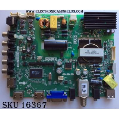 MAIN / FUENTE / (COMBO) / SANYO 02-SHY39A-CKS001 / B14060260 / TP.MS3393T.PB79 / 3MS3393X-2 / MODELO DP40D64 P40D64-02 / PANEL LVF400SSDXE7V6