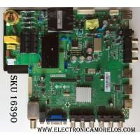 MAIN / SCEPTRE A13082572 / TP.RSC8.P71 / MODELO X409BV-FHDR8HVN01 / PANEL CN39HA60