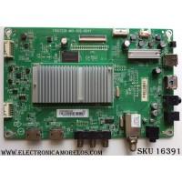 MAIN / SHARP XGCB0QK031 / (X)XGCB0QK031020X / 715G7228-M01-002-004Y / MODELO LC-32LB481U / PANEL TPT315B5-HVN05.A REV:S601B