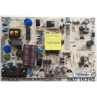 FUENTE DE PODER / SHARP PLTVFL253XXA2 / 715G7198-P01-002-003S / MODELO LC-32LB481U / PANEL TPT315B5-HVN05.A REV:S601B