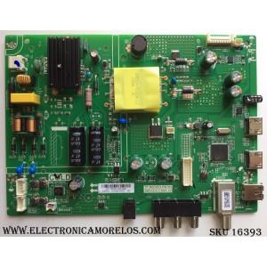 MAIN / FUENTE (COMBO) / TOSHIBA B17104521 / TP.MS3553.PB789 / 3MS553LC5NA.02 / 02-SH253A-C007002 / PANEL LVW320CSDX E26 V7  / MODELO 32L310U18