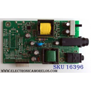 TARJETA STANBY / RCA 1485T-DPS-09 / KME140312KPG / PANEL LC420DUJ-SGE1 / MODELO J42HE841-SGE1