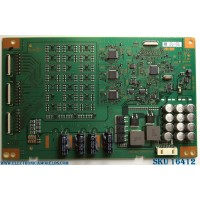 LED DRIVER / SONY A2166063B / 1-981-827-12 / MODELO XBR-55X900E / PANEL YD7S550DND01B