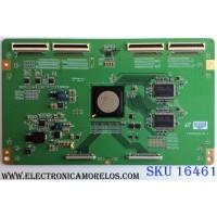 T-CON / MITSUBISHI LJ94-2523E / F460HEC6LV0.0 / 2523E / PANEL LTA460HE08 / MODELO LCD-46LF2000 (M)