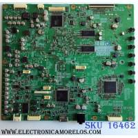 MAIN / MITSUBISHI 921C567001 / 212A01601 / 921C5670 01 / PANEL LTA460HE08 / MODELO LCD-46LF2000 (M)