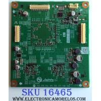 SUB T-CON / MITSUBISHI 921C568001 / 921C5680 01 / 212A01601 / 1C566 / PANEL LTA460HE08 / MODELO LCD-46LF2000 (M)