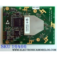 TARJETA INTERFACE / MITSUBISHI 938P154A10 / MPR 0092 / AMN_PCB_091 REV 2.0 / 006XWA0009 / PANEL LTA460HE08 / MODELO LCD-46LF2000 (M)
