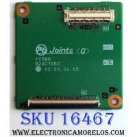 ADAPTADOR DE TARJETA INTERFACE / 920D765001 / 212A01601 / 920D7650 01 / 1C566 / PANEL LTA460HE08 / MODELO LCD-46LF2000 (M)