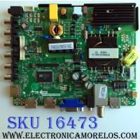 MAIN / FUENTE (COMBO) / PIONNER B14030949 / TP.MS3393.PB851 / 235G Y 405408 / TP.MS3393.PB851-75W02 / CKJH140362 / PANEL SM395CKB01 D0410 / MODELO PLE-4004FHD