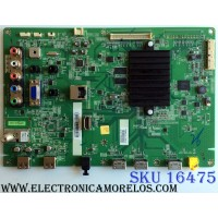 MAIN / TOSHIBA 75033728 / 431C6351L71 / 461C6351L71 REV:1D / SRK50T / VTV-L50701 REV:1 / PANEL C390LD-DF61 REV.1A / MODELO 39L4300U