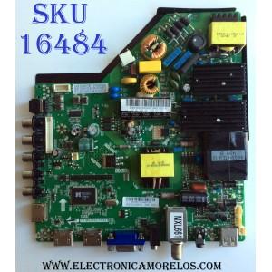 MAIN / FUENTE (COMBO) / SANYO B14041711 / TP.MS3393.PC821 / 8140400513 / TP.MS3393.PC821B / 3448-6021041947-144T-7151R / PANEL LSC480HN05 / MODELO FVD48P4 P48DP4-00